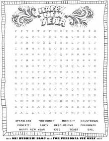 New year s printable activities entertain your kids with 4 new