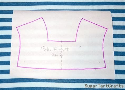 pattern tracing freezer paper sugar tart crafts tip of the week how to cut patterns