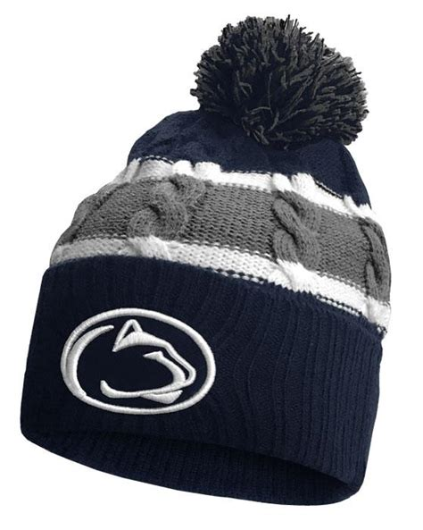 penn state knit hat penn state youth knit windy knit hat gt youth gt hats