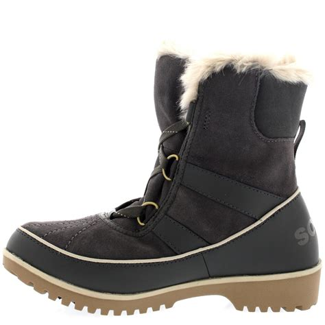 snow boots for uk womens sorel tivoli ii lace up winter snow fur lined