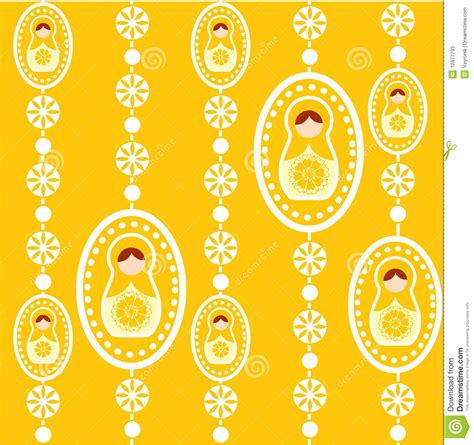 russian doll design wallpapers yellow russian doll wallpaper stock photos image 12877793