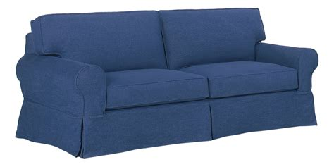 blue jean slipcovers denim sofa slipcover furniture sure fit denim slipcover