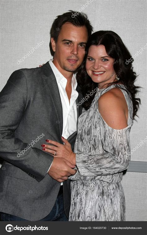 the bold and beautiful fan event darin brooks heather tom stock editorial photo 169 jean