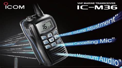 Vhf Marine Transceiver Icom Ic M36 icom vhf malaysia icom radio malaysia icom aeronautical