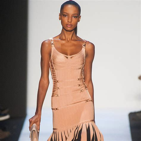 Herve Leger And To Make A New York Fashion Week Return by Herve Leger Fall 2014 Runway Show New York Fashion Week