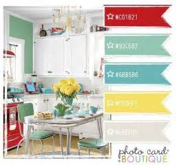 retro kitchen color scheme love papercraft juxtapost