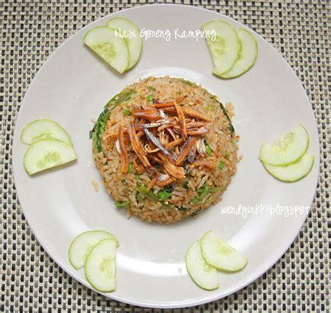 table     nasi goreng kampung malay