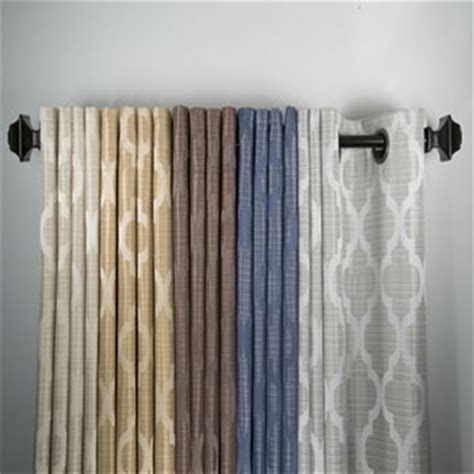 family dollar blackout curtains window panels products and trellis pattern on pinterest