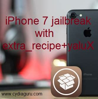 iphone 7 jailbreak extra recipe yalux pangu jailbreak pangu 8pangu jailbreak