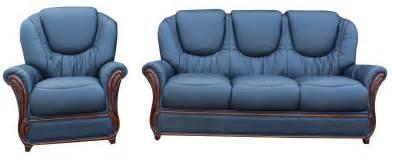 Juliet 3 seater armchair sofa suite navy blue leather jpg