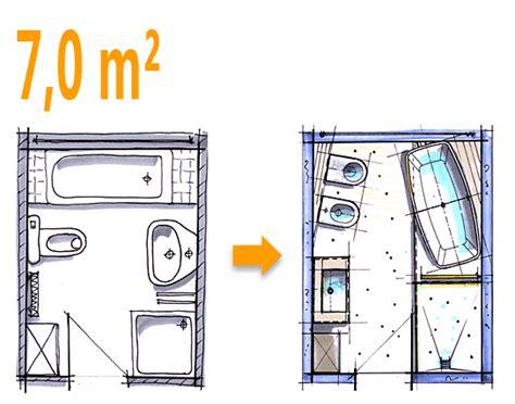 kombination wc und bidet badplanung beispiel 7 qm freistehend badewanne mit wc