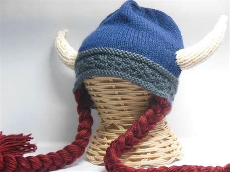 knit viking hat knit viking hat viking helmet braids child viking