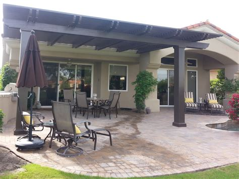 Weatherwood And Aluminum Wood Patio Cover Products By Covering A Patio