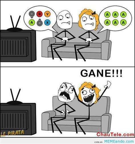 imagenes memes videojuegos lo que siempre pasa con las chicas jugando videojuegos