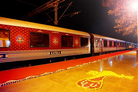 luxury trains of india five best luxury trains in india