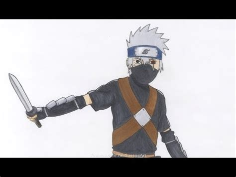 tutorial menggambar obito drawing kakashi funnycat tv