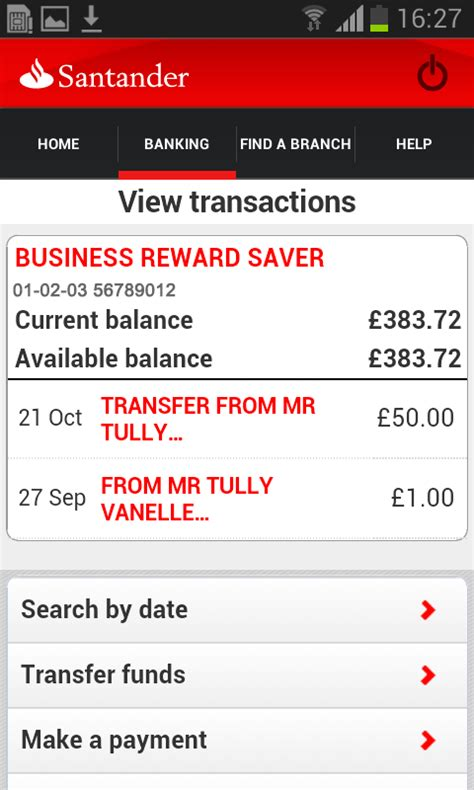 santander bank log in business banking android apps on play