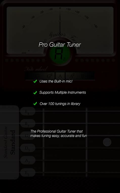 pro guitar tuner apk pro guitar tuner 187 apk thing android apps free
