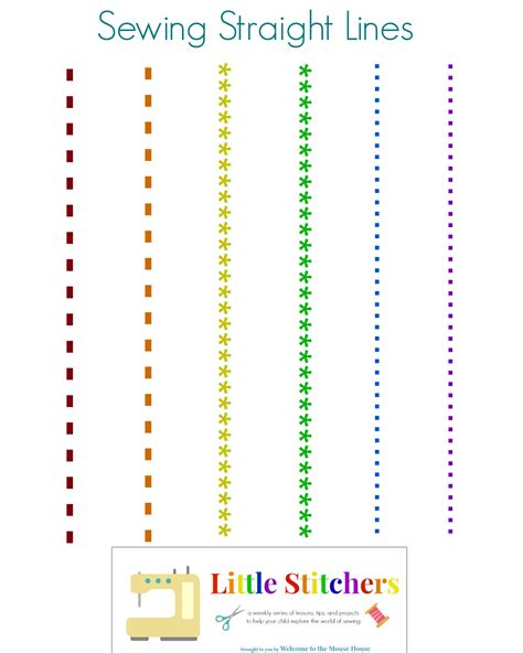 printable paper sewing practice sheets little stitchers week 2 printable pack