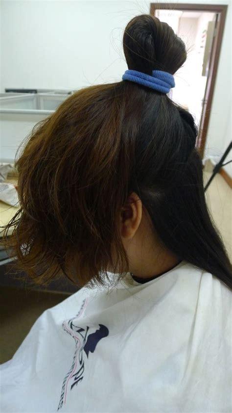 pls show infront of hair howwefixahub ww cut long hair no 316 longhaircut cn