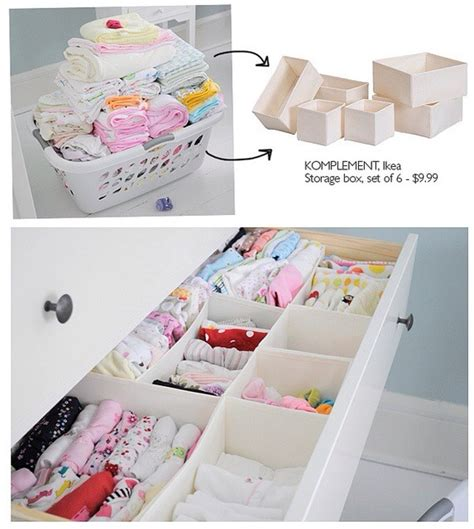 Organizing Dresser by Easy Way To Sort And Organize A Baby S Dresser Musely
