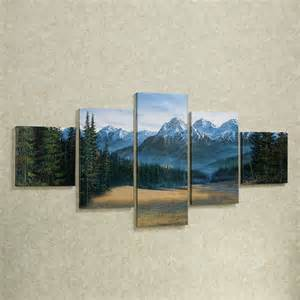Canvas Wall Decor by Rocky Mountain 5 Pc Canvas Wall Set