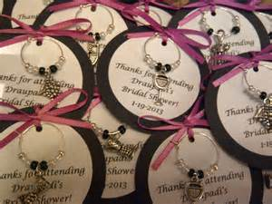 custom wine themed wine charm favors weddings by