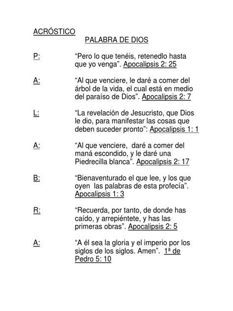 acrosticos con la palabra humildad acrostico palabra de dios 13 1