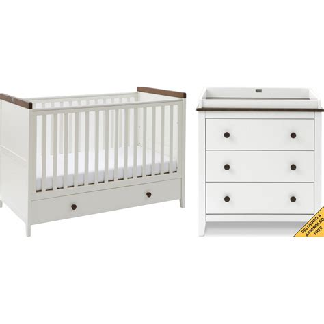 Silver Cross Nursery Furniture Sets Silver Cross Porterhouse 2 Nursery Furniture Set
