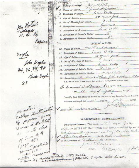 Ky Marriage License Records Herren Collection