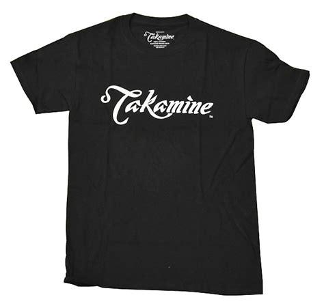 Takamine T Shirt takamine logo shirt black small reverb