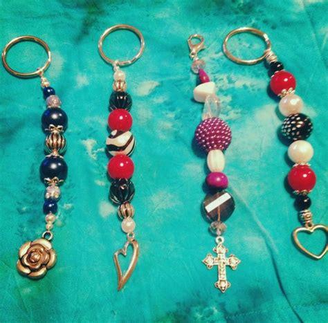 Handmade Keychain Ideas - 18 best handmade keychains images on