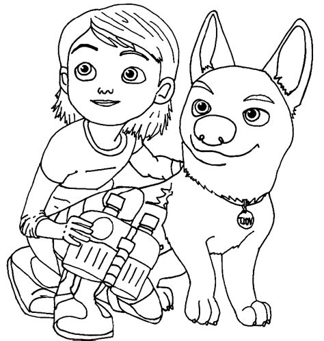 coloring pages of bolt the dog disney bolt coloring pages az coloring pages