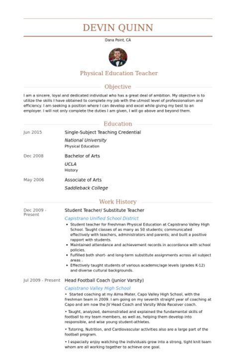 student teacher resume sles visualcv resume sles