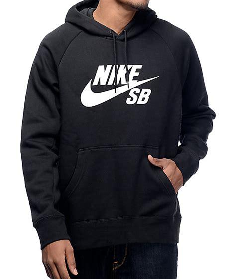 Jaket Nike Sweater Nike nike sb icon black and white hoodie zumiez