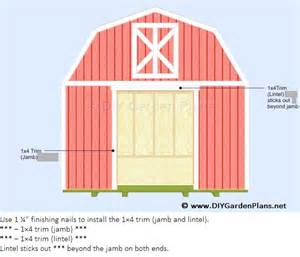 Gable Barn Plans by Access Free 12x12 Gable Shed Plans Shed Build
