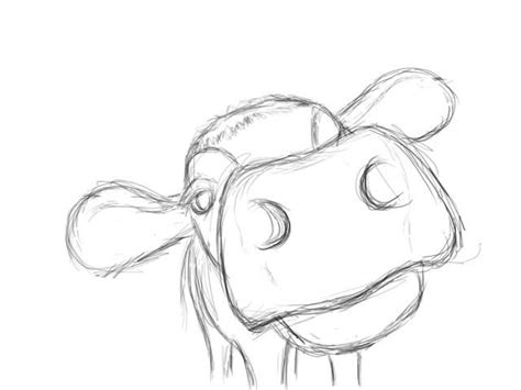 simple doodle drawings best 25 cow ideas on cow drawing cow