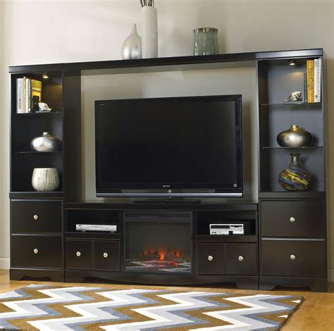 signature design by omni entertainment wall unit w