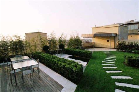 terrazzo giardino giardino pensile sul terrazzo pro e contro ville e giardini