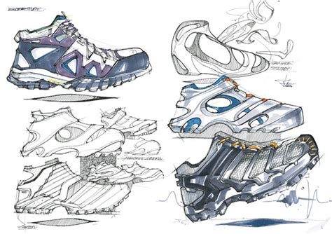 shoes design study on behance