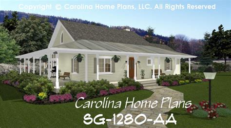 small country home plans small country cottage house plan sg 1280 aa sq ft