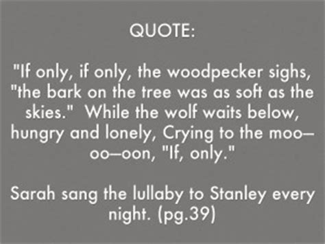 if only books quotes small steps louis sachar quotesgram