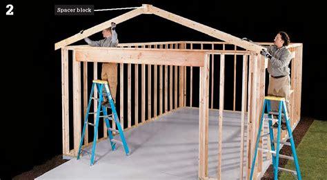 plans wooden garage plans  simple