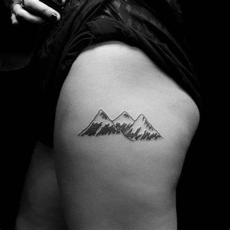 minimalist mountain tattoo 46 magnificent mountain designs tattoobloq