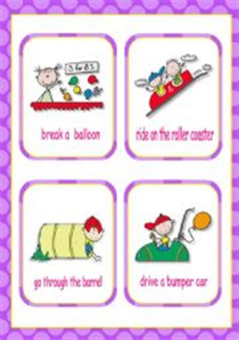printable exercise flash cards english teaching worksheets present continuous progressive