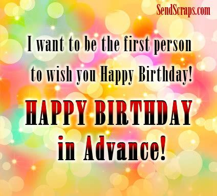 Wishing Myself Happy Birthday In Advance ᐅ Top 10 Advance Birthday Images Greetings And Pictures