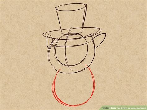 How To Draw A Leprechaun With A Pot Of Gold