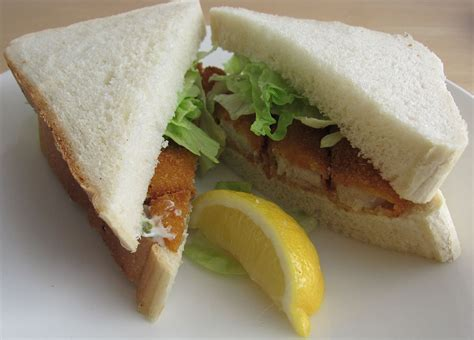 is a a sandwich fish finger sandwich