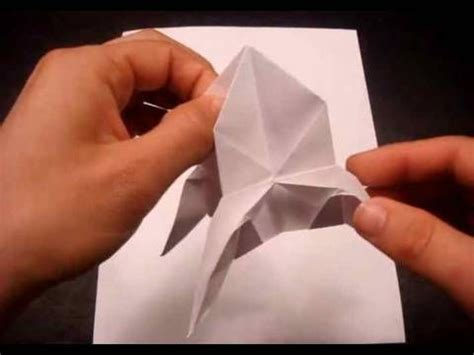 How To Make A Paper Rocket Ship - how to make a paper rocket ship origami fold and cut