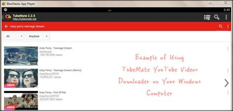tubemate app  pc laptop windows   xp